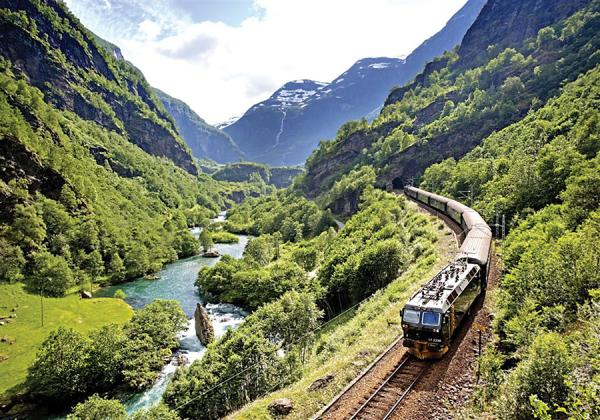 Norway to Finland Flam Railway